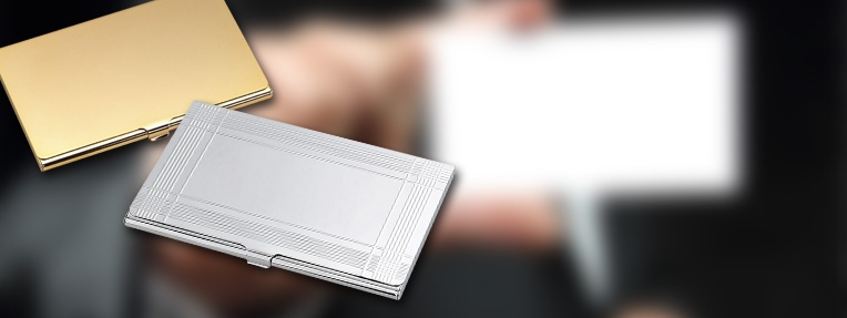 Let them know that you mean business - Business Card Cases